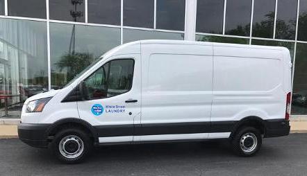 White Street Laundry Service Van